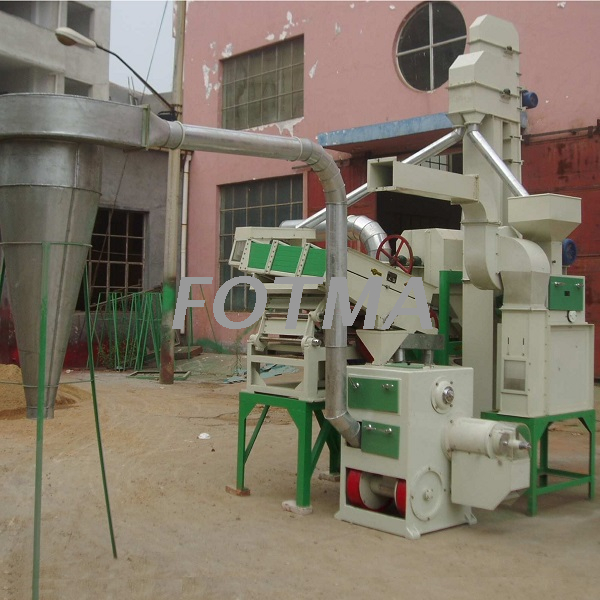 18t/day Combined Mini Rice Mill Line