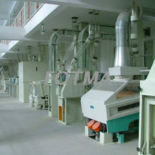 100 t/day Fully Automatic Rice Mill Plant