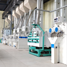 120T/D Modern Rice Processing Line