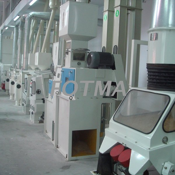 70-80 t/day Complete Rice Milling Plant