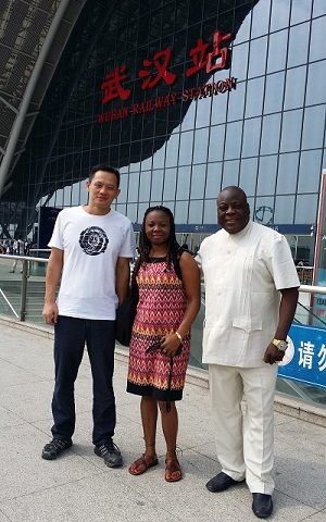 Customers from Nigeria Visited Us(2)