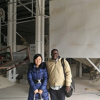 The Client from Senegal Visited Us
