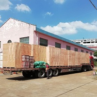 The New 70-80TPD Rice Milling Line for Nigeria is Dispatched