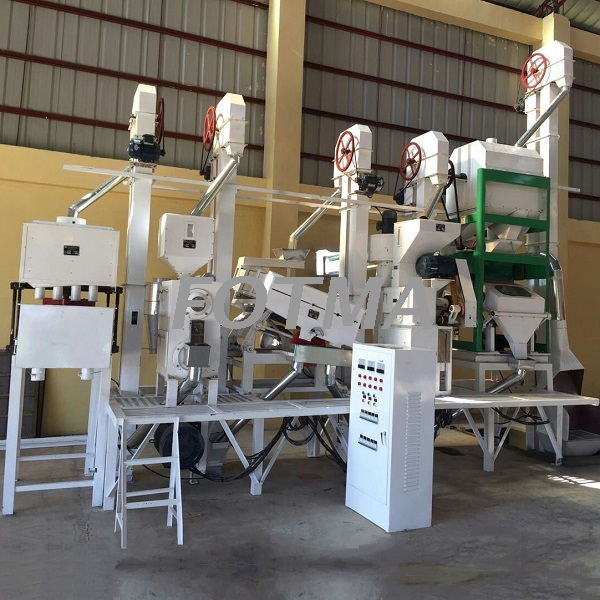 20-30t/day Small Scale Rice Milling Plant