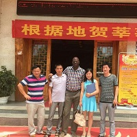 Customer from Senegal Visit Us
