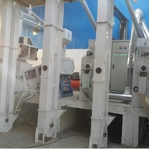 A line of rice mill machinery installed in North of Iran(2)b