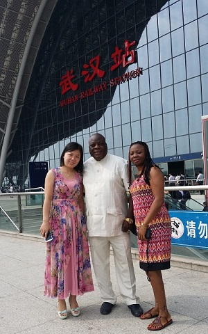 Customers from Nigeria Visited Us(3)