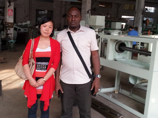 Nigeria Customer Visit Our Factory