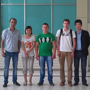 Customers from Kazakhstan Visited Us(1)
