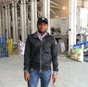 Nigeria Client Visited Us for Rice Mill (2)b