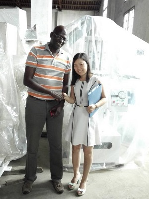 Customer from Senegal Visited Us (3)