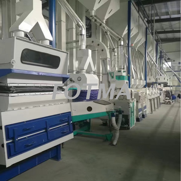 150TPD Modern Auto Rice Mill Line